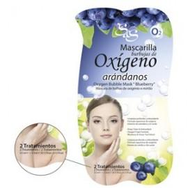 Mascarilla Facial  - Burbujas Oxígeno-Arándanos - S&S