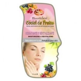 Mascarilla Facial - Cóctel de Frutas - S&S - 15 ml