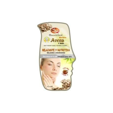 Mascarilla Facial - Avena y Miel - S&S - 15ml