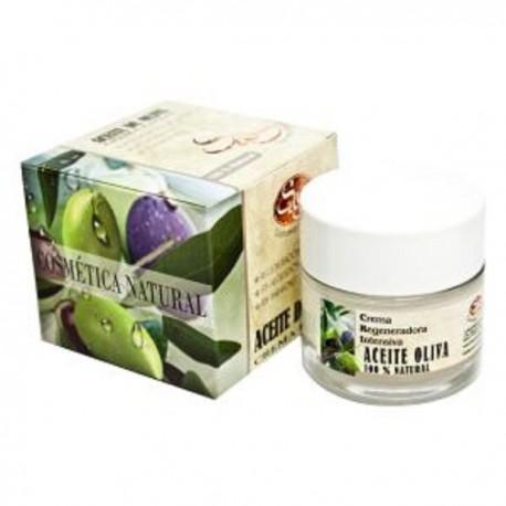 Crema Facial - Aceite Oliva - S&S - 50 ml