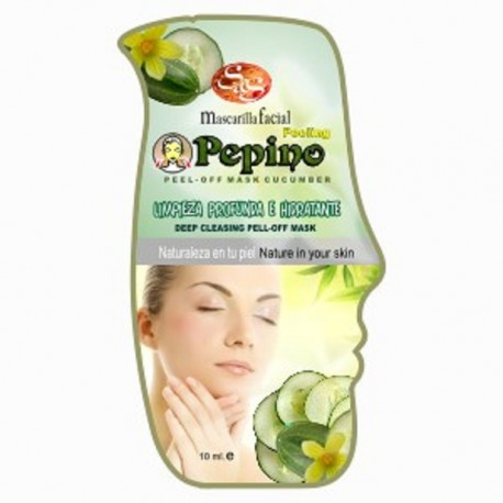 Mascarilla Facial  - Pepino - S&S - 10 ml