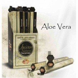 Incienso Nat. S&S 20 Stick Aloe Vera