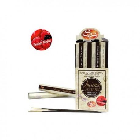 Incienso Nat. S&S 20 Stick Frutos Rojos