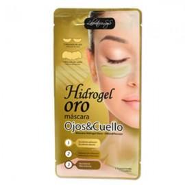 Máscara Ojos y Cuello - Hidrogel Oro - S&S