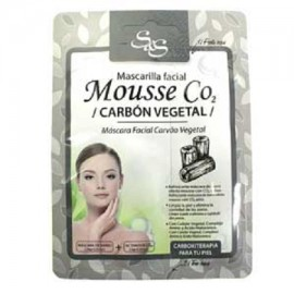 Mascarilla Facial - Mouse CO2 - Carbón Vegetal - S&S