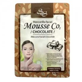 Mascarilla Facial - Mouse CO2 - Chocolate - S&S