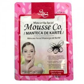 Mascarilla Facial - Mouse CO2 - Manteca Karite - S&S