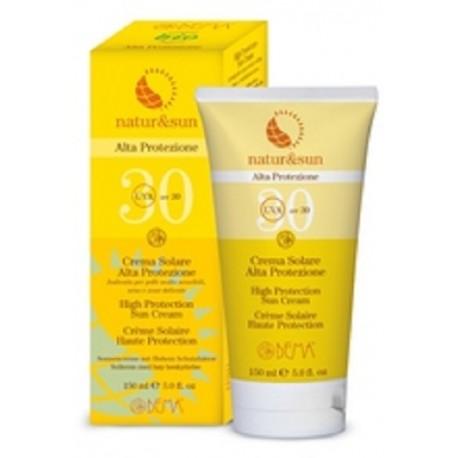 Crema Solar Alta Protección SPF30 - Natur&Sun - 150ml